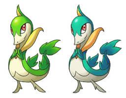 Servine by arkeis-pokemon