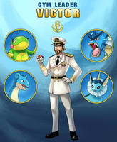 Gym Leader Victor by arkeis-pokemon