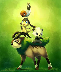 New from Gen VI by arkeis-pokemon