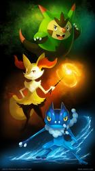 Kalos Teenagers by arkeis-pokemon