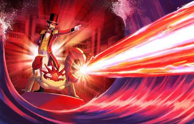 Super Contest - Hyper Beam! by arkeis-pokemon