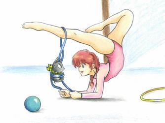 Gymnastic by ranmaonehalf