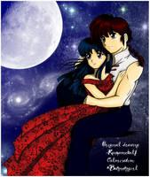 Moonlight_colaboration draw by ranmaonehalf