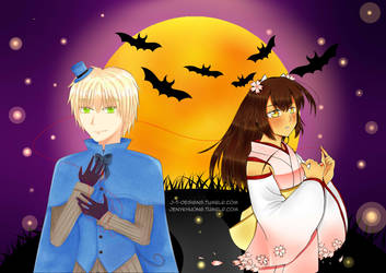 EngViet: Halloween collab by jt-designs-123