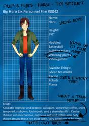 BH6: Haru Profile by jt-designs-123