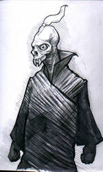 skull creature by petridish