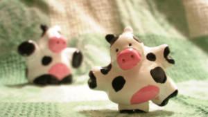 Cowsville figurine prototype by petridish