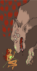Dread Wolf by Limely