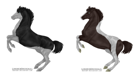 Closed Equine Designs! Cheap! by Selunna-Adopts