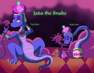 Jada the Snake by megadrivesonic