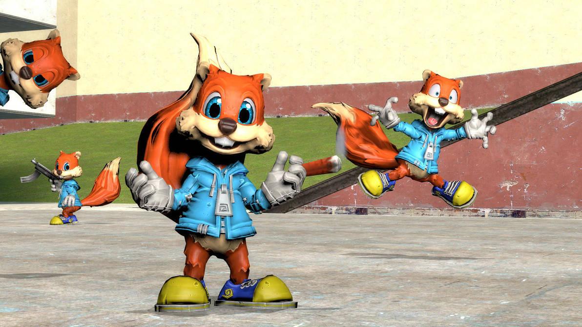 Conker Squirrel Gmod By Dthom83 Deviantart – Fondos de Pantalla