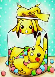 #023 - Bonbons a la Pikachu by AnzuHirota