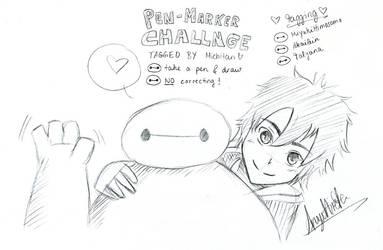 Pen-Marker Challenge by AnzuHirota