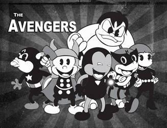 The Avengers Retro! by RoArGo
