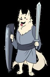 Lesser dog by Erkfir