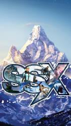 SSX mobile wallpaper by LastBlues