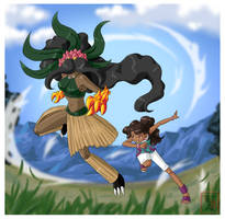Commission .:Ulani + Kaluahmon :. by Icandoittoo