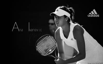 Ana Ivanovic Wallpaper by Us3d-CanVas