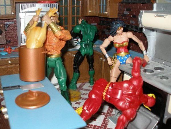 JLA Thanksgiving by toyaction