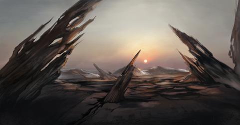 Wasteland by dashima