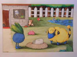 Crayola Challenge - Day Care Center by BlueEyesNeko