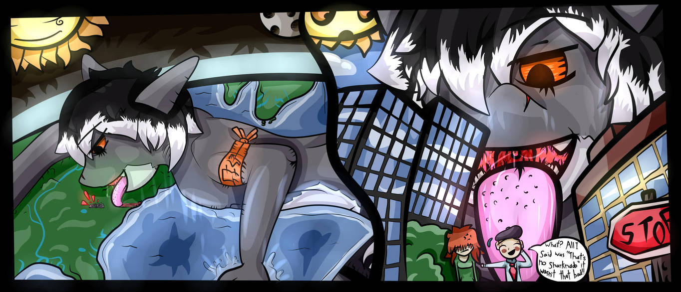 Commission Thats No Sharknado By Jake The Giant On Deviantart