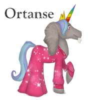Ortanse, The Fab and Magestic Alicorn OC by SnowyTime