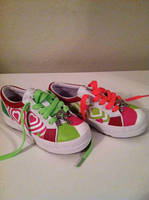 first day of kindergarten custom kicks by manicimages