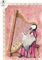 Peaceful Harp by arikla