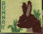 Bunnah Beaded badge by arikla