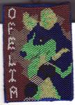 Ofelia - Beaded Badge by arikla