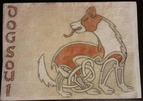 Dogsoul Kells Badge by arikla