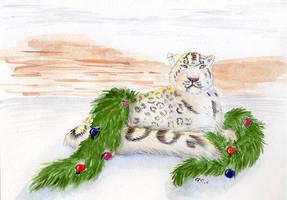 Snow Cat by arikla
