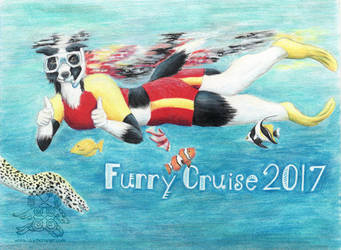 Furry Cruise 2017 Badge by arikla