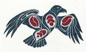 Sort-of-Alaskan Eagle by arikla