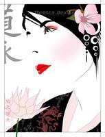 Geisha Series : Serenity by thresca