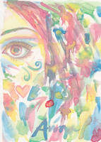 Colorful Eye by theanimeaxis