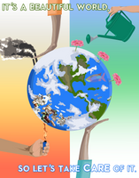 Earth Day by theanimeaxis