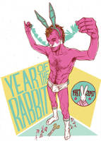 YEAR OF THE RABBIT by roxination