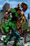 hulk vs juggernaut by Zetr0C