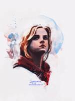 Hermione by Redmarker2611