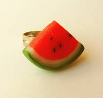 juicy watermelon ring by ScrumptiousDoodle