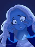 Blue Diamond (The Trial) - Steven Universe Fanart by pdcdraws