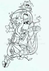 Garden Witch by darkmotives