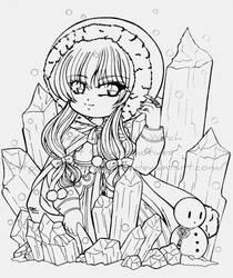 Seasonal- Winter Witch by darkmotives
