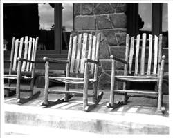 Rocking Chairs at Yellowstone General Store by rdungan1918