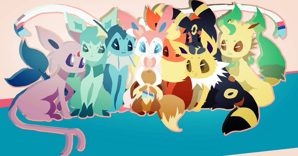 Eevee Family by musicwitme