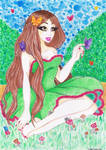 princesse des bois by ImAgInR-WyDeN