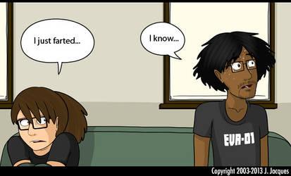 Questionable Content joke by HarukoHoshiko
