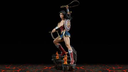 Wonder Woman wallpaper by teamblazeman